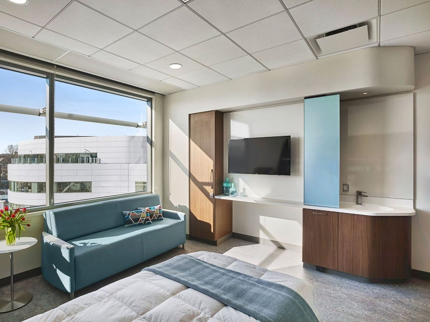 Hartford Hospital Bone & Joint Institute - patientroom3