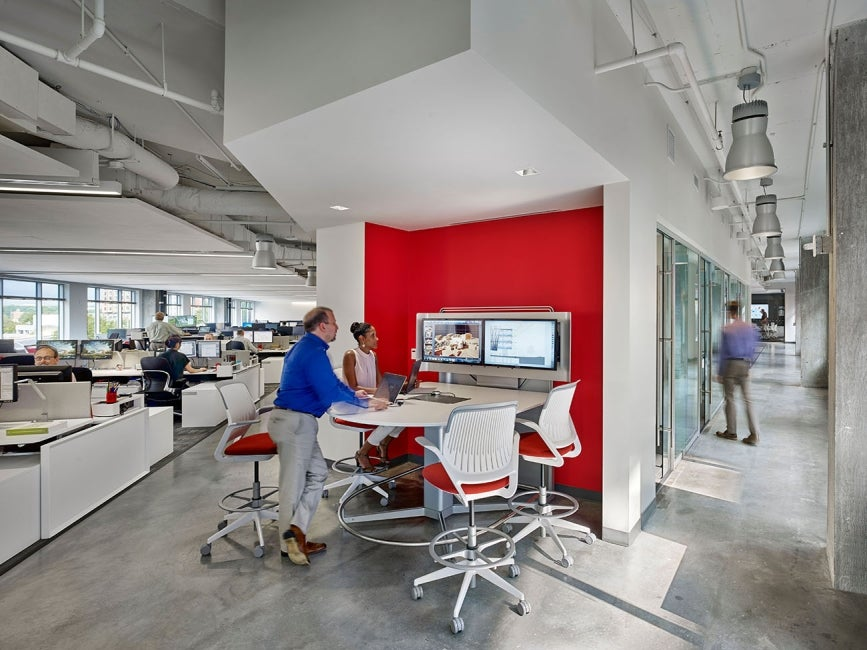 HDR Arlington Office Collaboration Space
