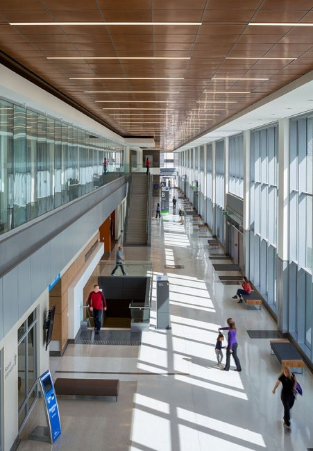 Humber River Hospital - atrium2