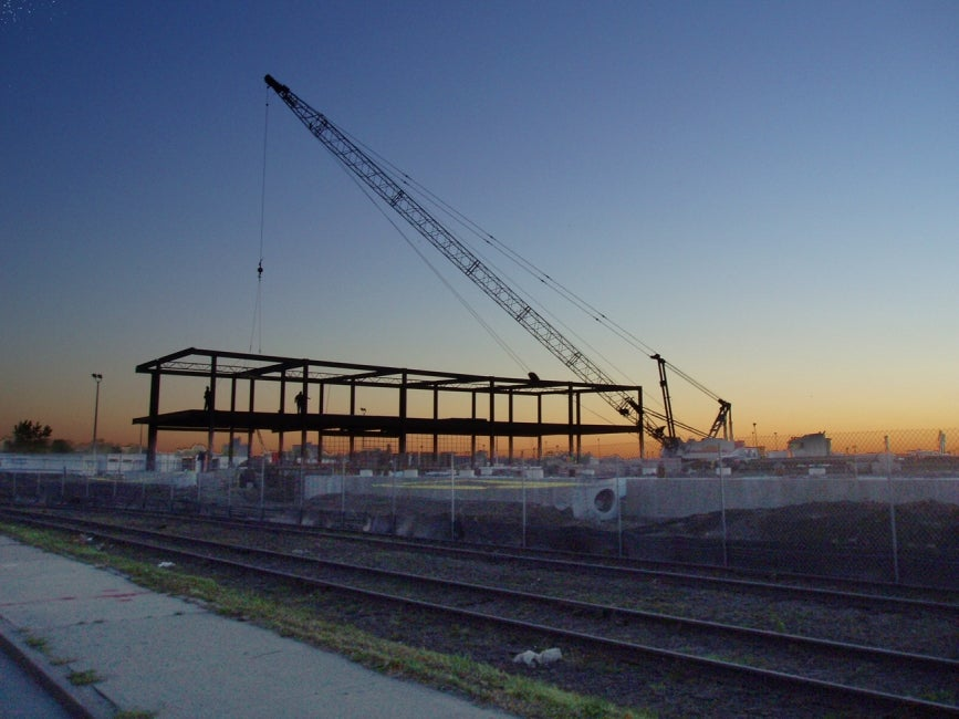 Anheuser Busch Distribution Facility Construction