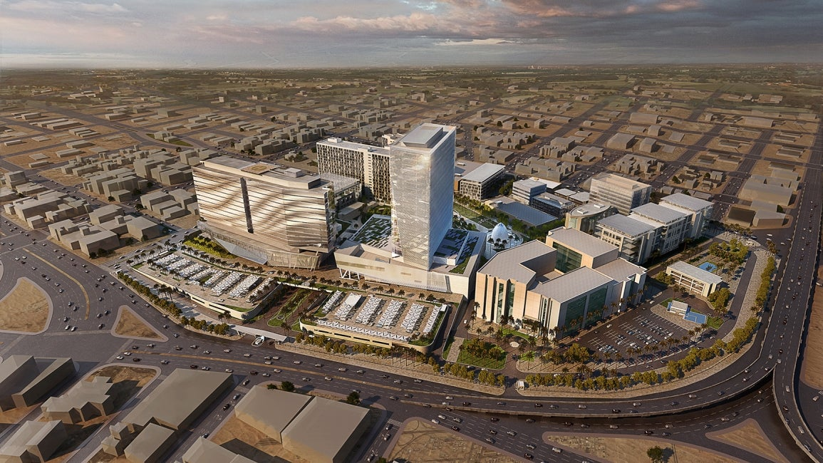 King Saud Medical City Bird's Eye View