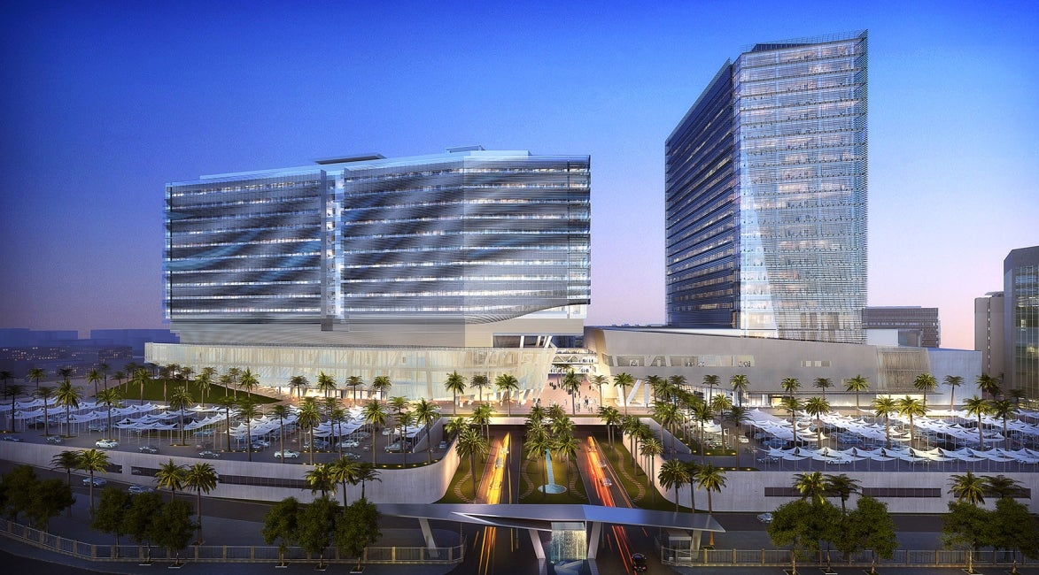 King Saud Medical City Exterior Elevation