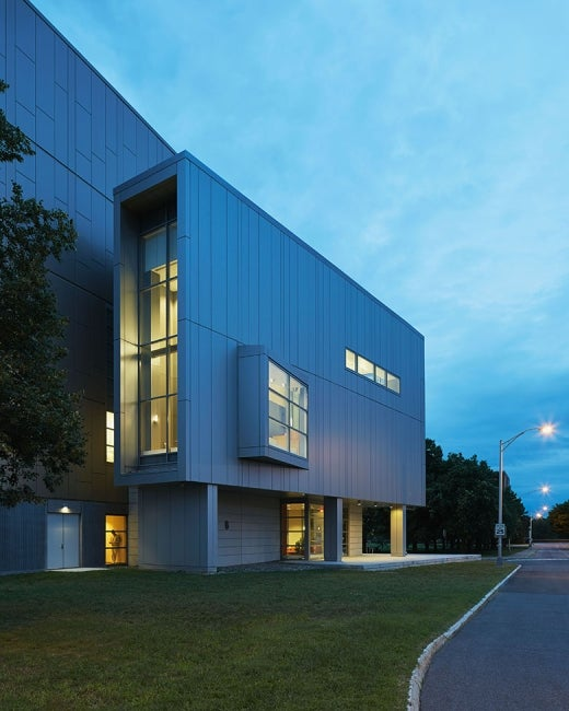 Food Safety and Metrology Laboratory Exterior Dusk