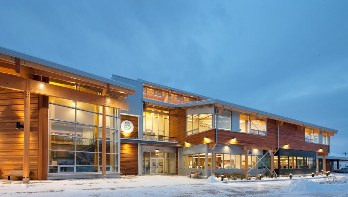 Northwest community college smithers campus hdr for Architects nw