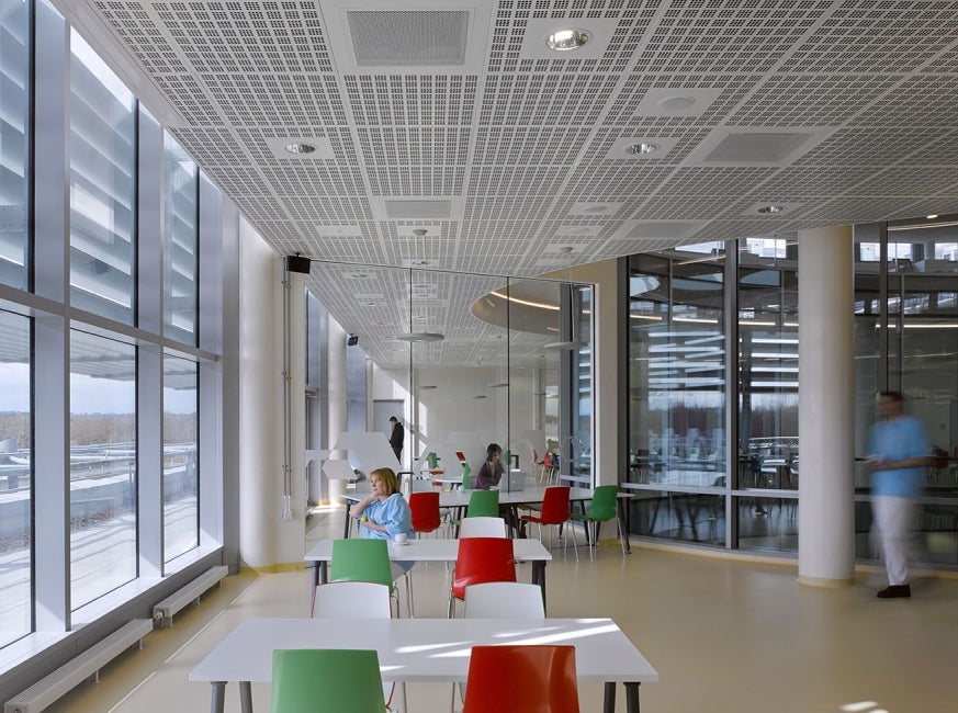BBSRC National Virology Centre: the Plowright Building Cafeteria