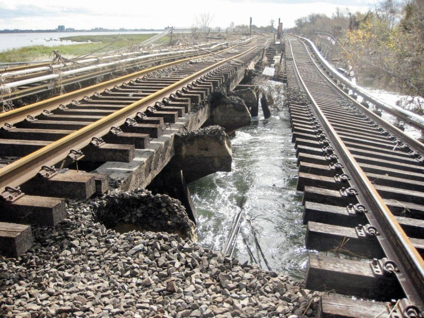 Rockaway Rail Line Emergency Repairs