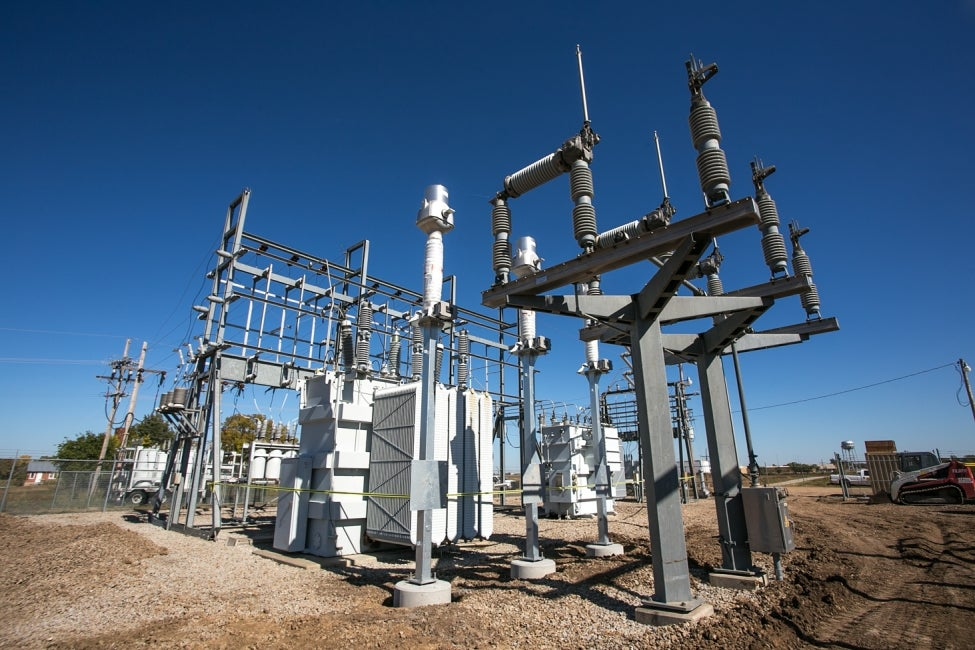 existing substation infrastructure
