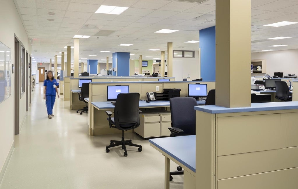 Surrey Memorial Hospital Admin Area