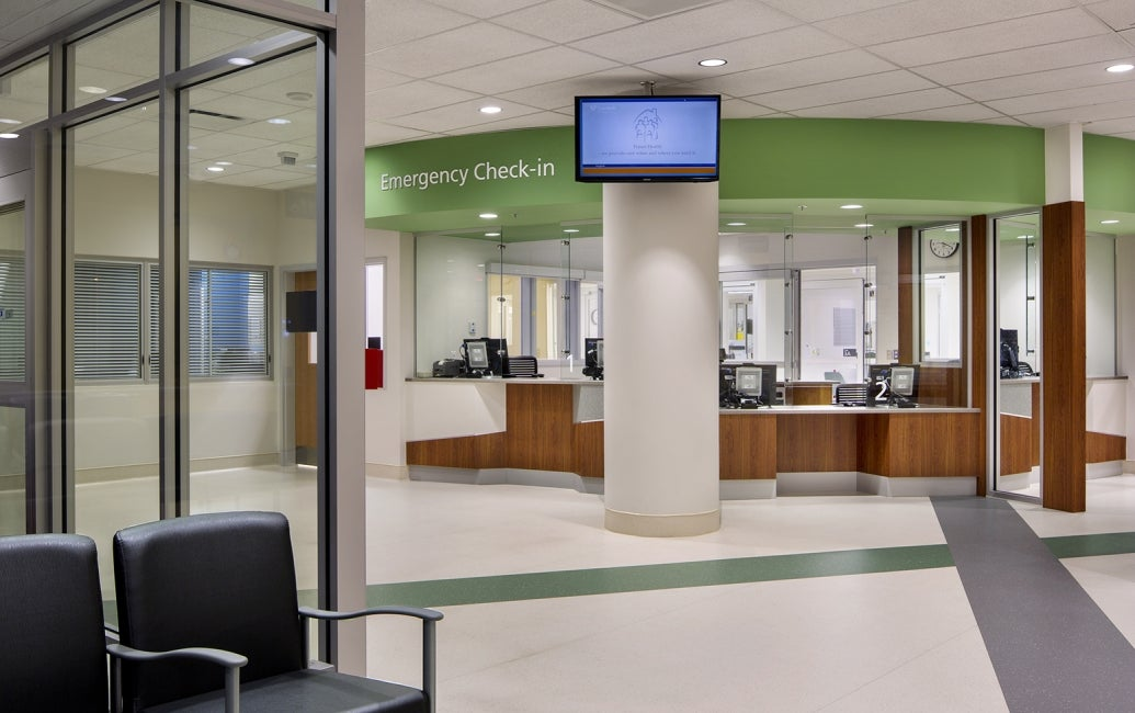 Surrey Memorial Hospital Emergency Check-in