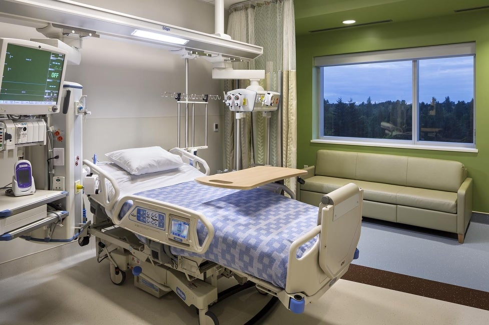Surrey Memorial Hospital Patient Room
