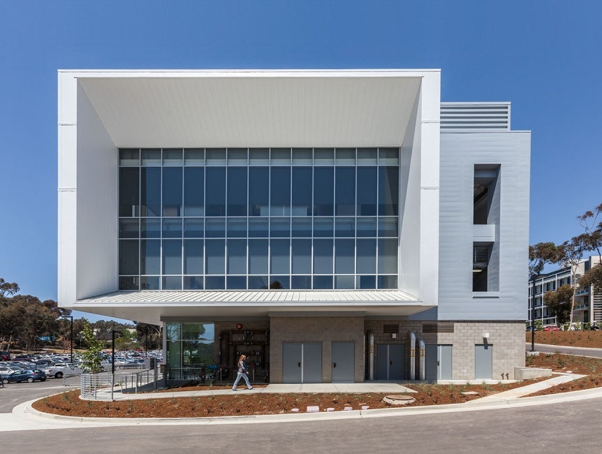 Centralized Research Services Facility Exterior