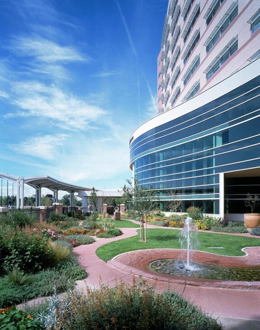 Anschutz Centers for Advanced Medicine - gardenfountain