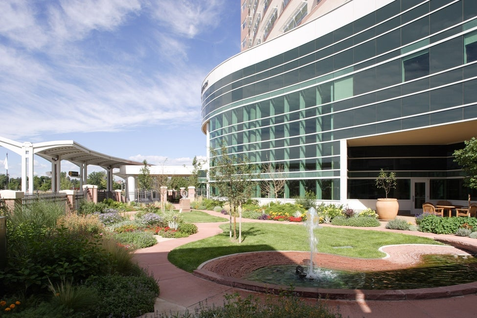 Anschutz Centers for Advanced Medicine - healinggarden