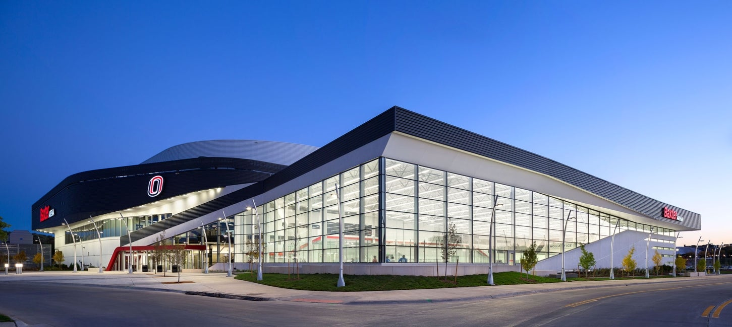 University of Nebraska Omaha Baxter Arena