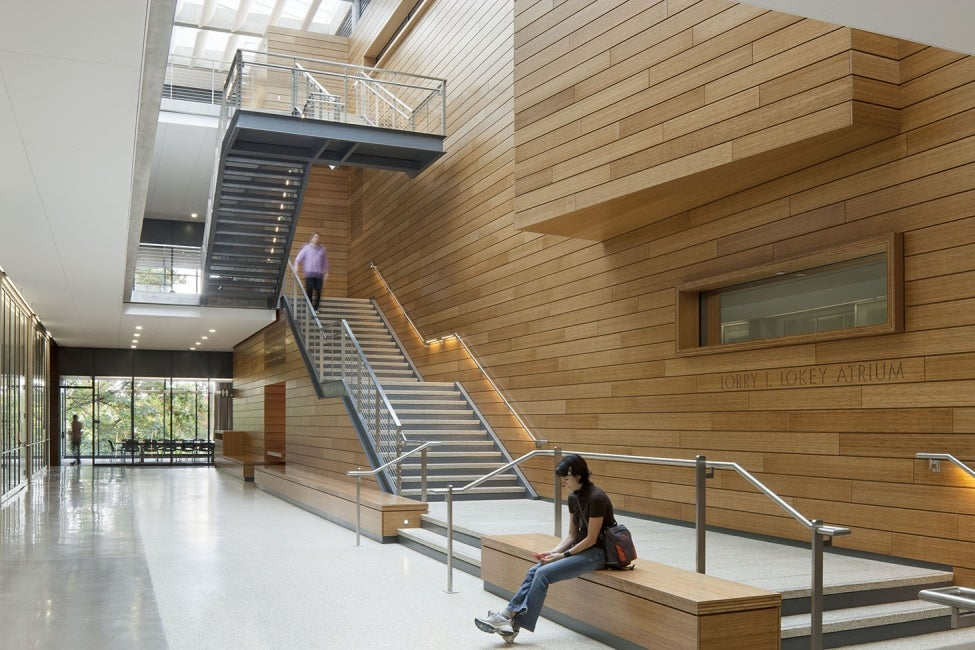 Lewis Integrative Science Building Stair