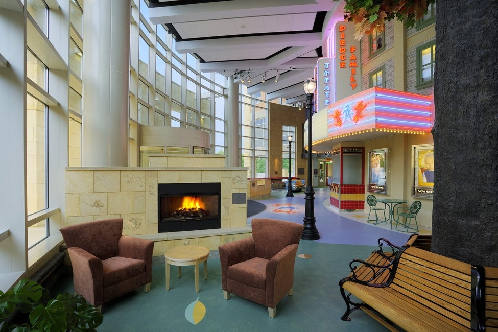 American Family Children's Hospital - lobby