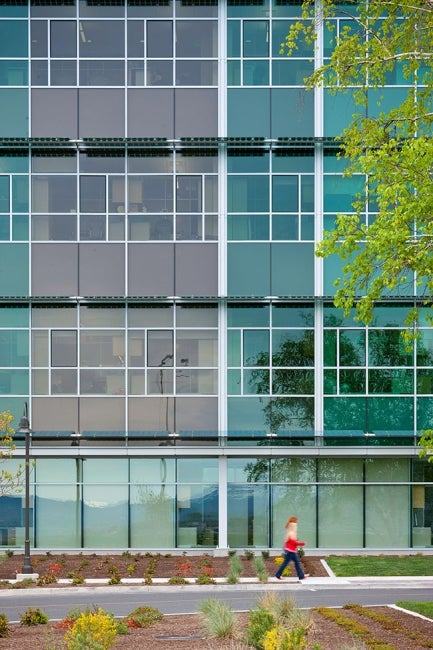 Agricultural Sciences Building Exterior Glass