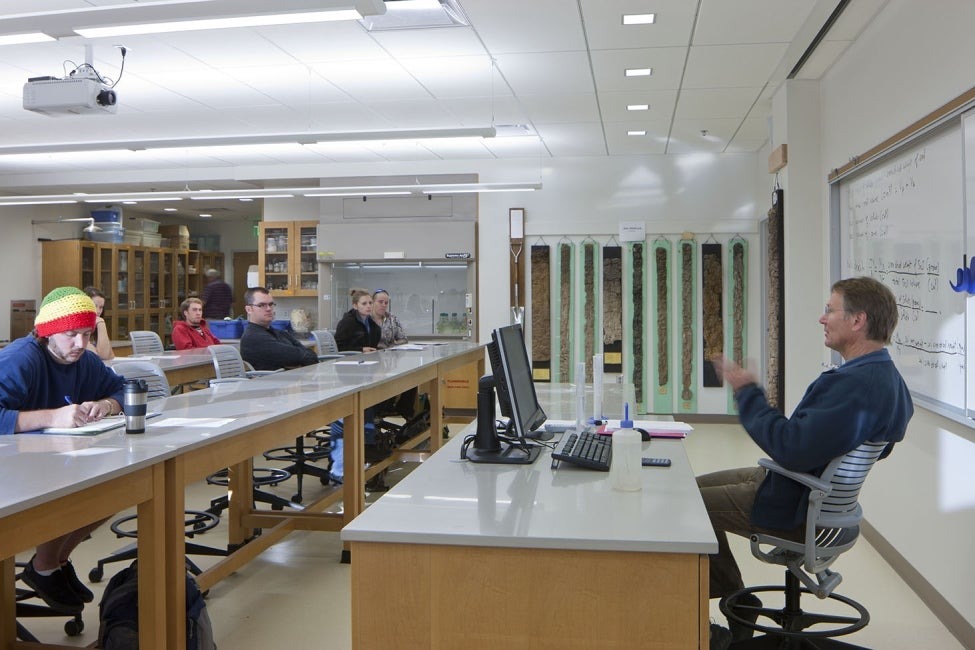 Agricultural Sciences Building Classroom