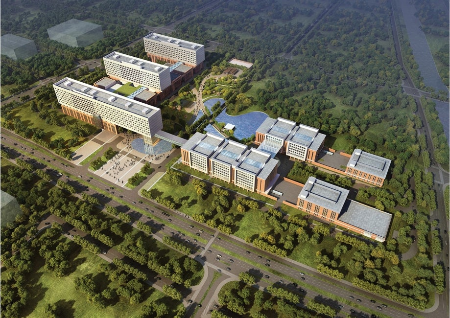 Zhejiang University First Affiliated Hospital Hospital Aerial