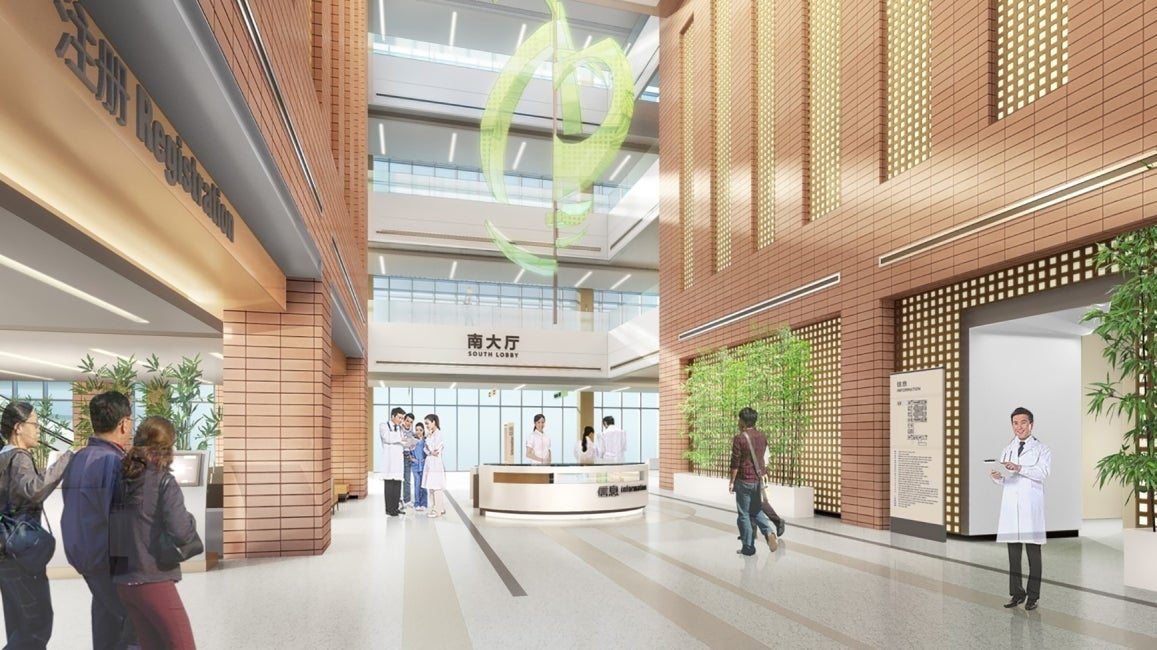 Zhejiang University First Affiliated Hospital South Lobby