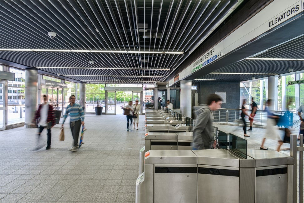 Government Center Entry and Fare Collection