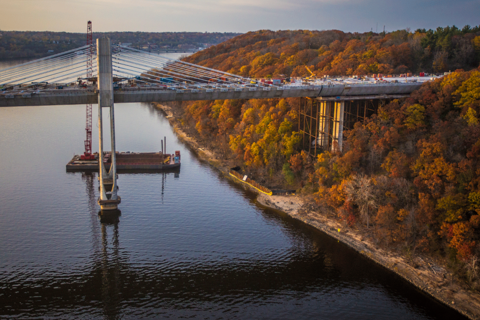 St. Croix Crossing on the East Bank