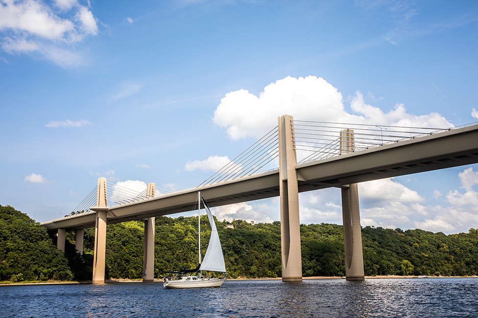 St. Croix Crossing Sailboat