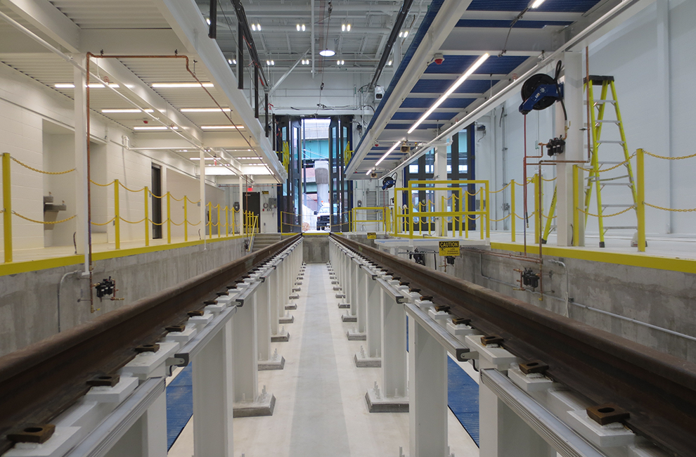 KC Streetcar maintenance facility