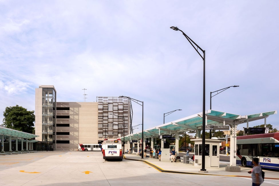 Springfield Union Station parking garage