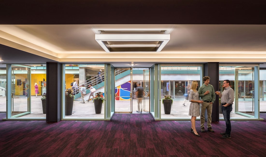 Denver Buell Theatre Lobby Renovation Entrance
