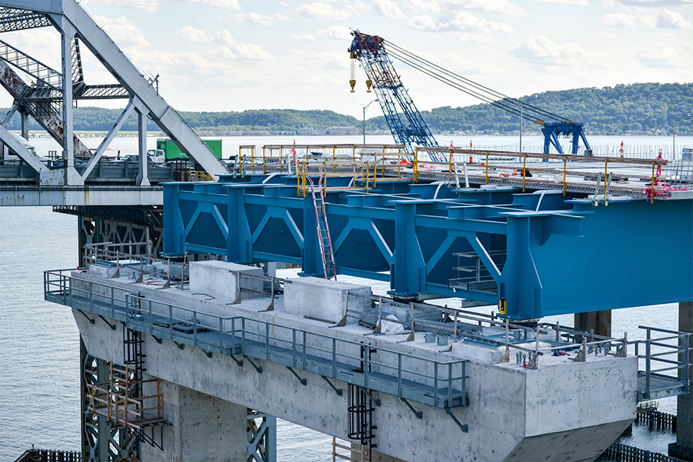 Governor Mario M. Cuomo Bridge (Tappan Zee) construction