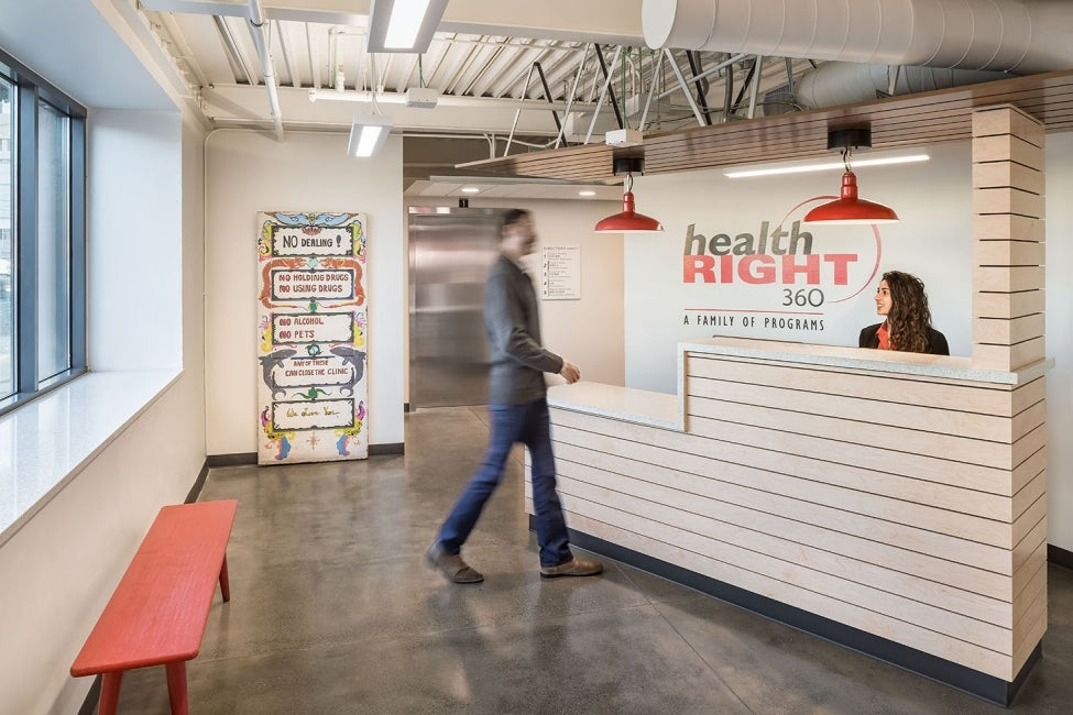 HealthRIGHT360 Integrated Care Center Lobby
