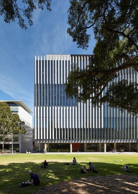 Materials Science and Engineering Building, University of New South Wales Exterior Partial Elevation