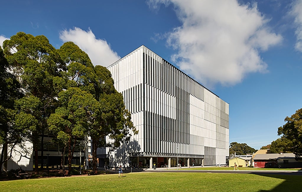 Materials Science and Engineering Building, University of New South Wales Exterior Perspective