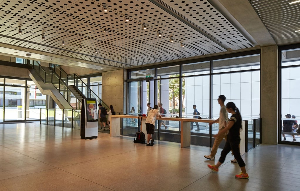 Materials Science and Engineering Building, University of New South Wales Interior Entryway