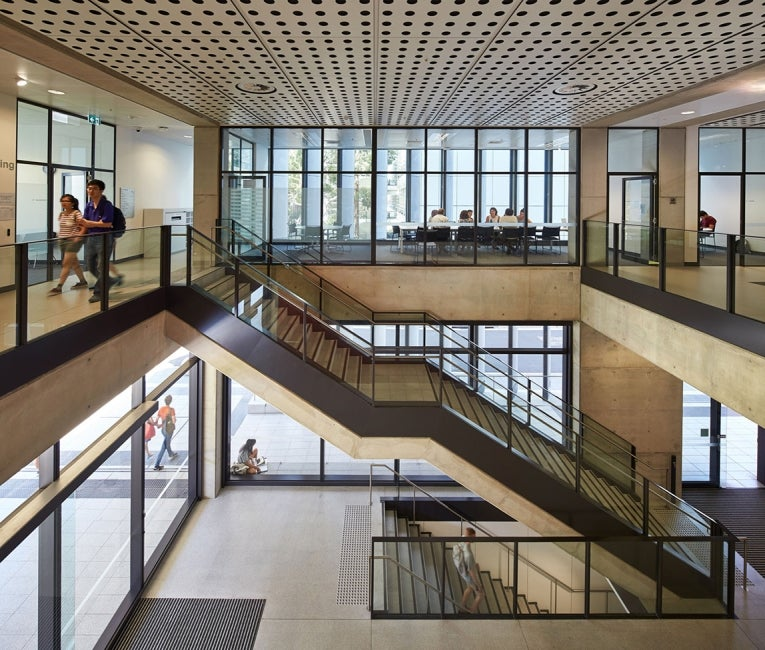 Materials Science and Engineering Building, University of New South Wales Interior Foyer