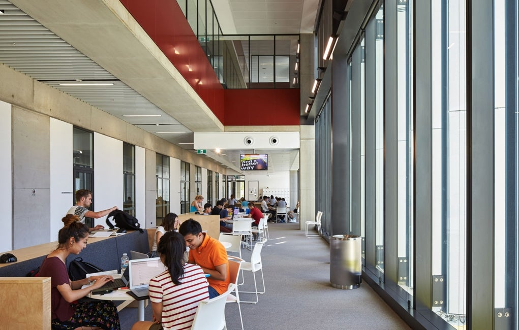 Materials Science and Engineering Building, University of New South Wales Interior Study Hall