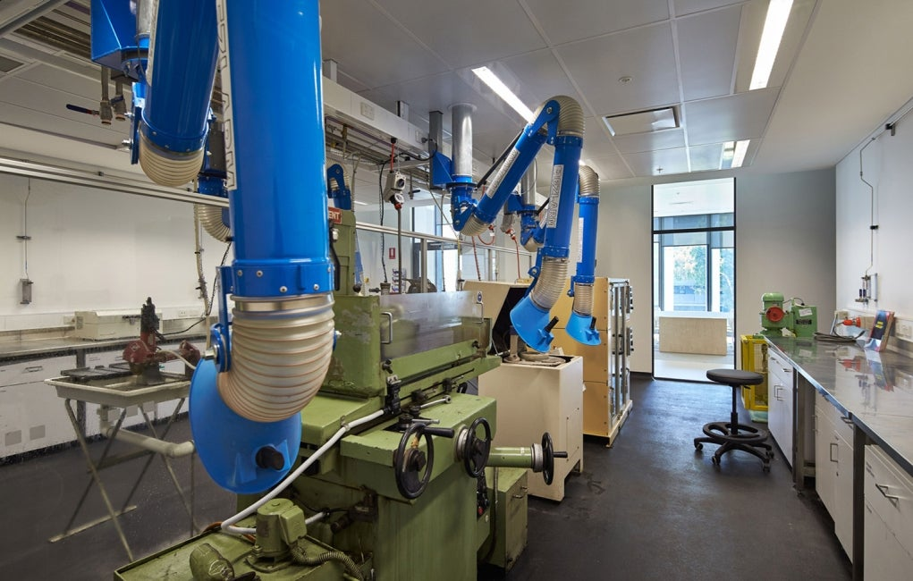 Materials Science and Engineering Building, University of New South Wales Interior Wetlab Empty