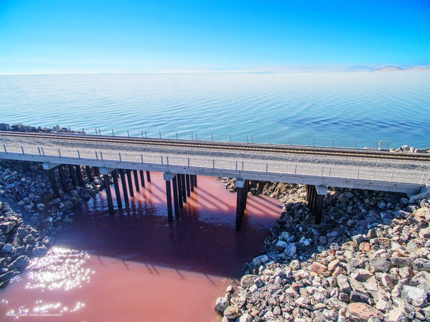 Great Salt Lake Causeway Bridge