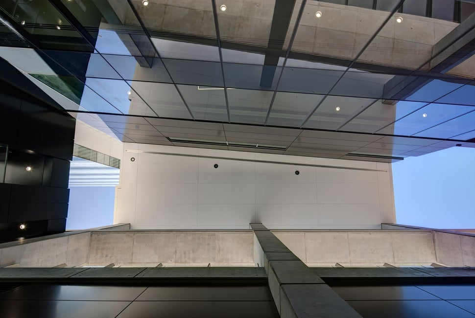 Prince of Wales Hospital, The Bright Alliance Exterior Ceiling Elevation