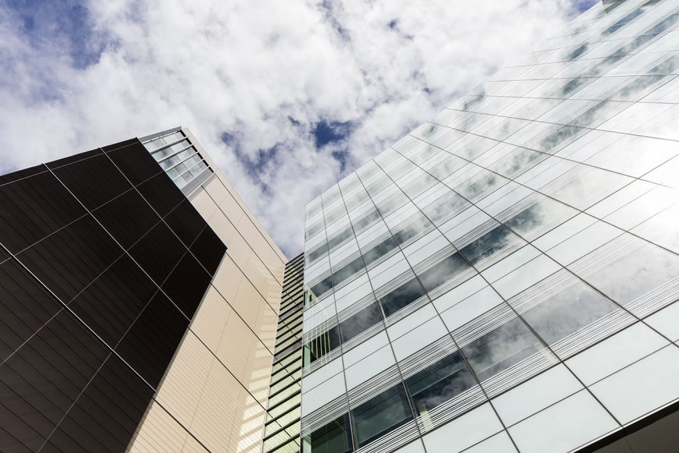 Prince of Wales Hospital, The Bright Alliance Exterior Facade Detail