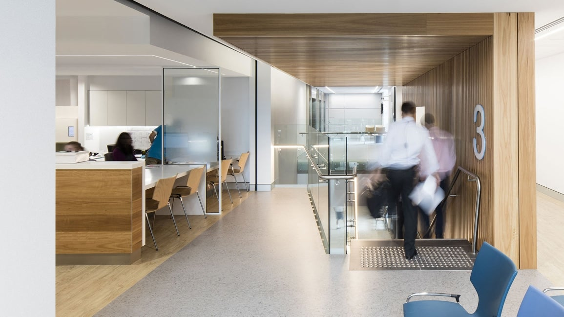 Prince of Wales Hospital, The Bright Alliance Interior Corridor Workstations