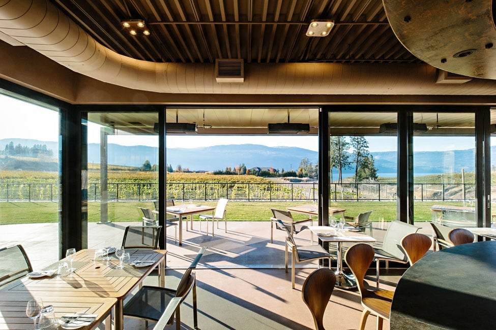 Chase Wines Experience Centre interior tasting room view