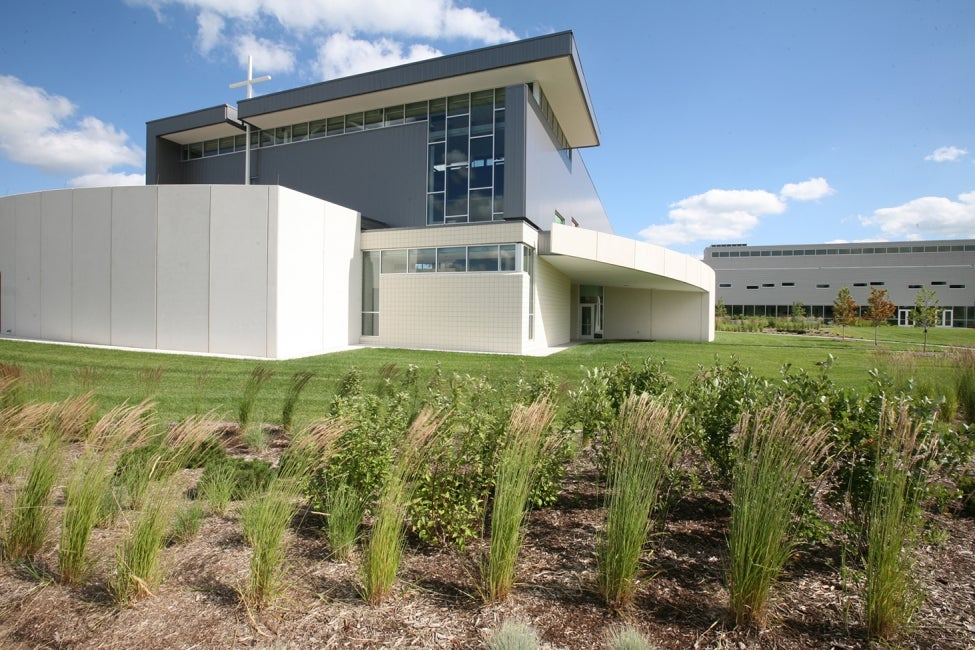 Ray and Joan Kroc Community Center chapel exterior