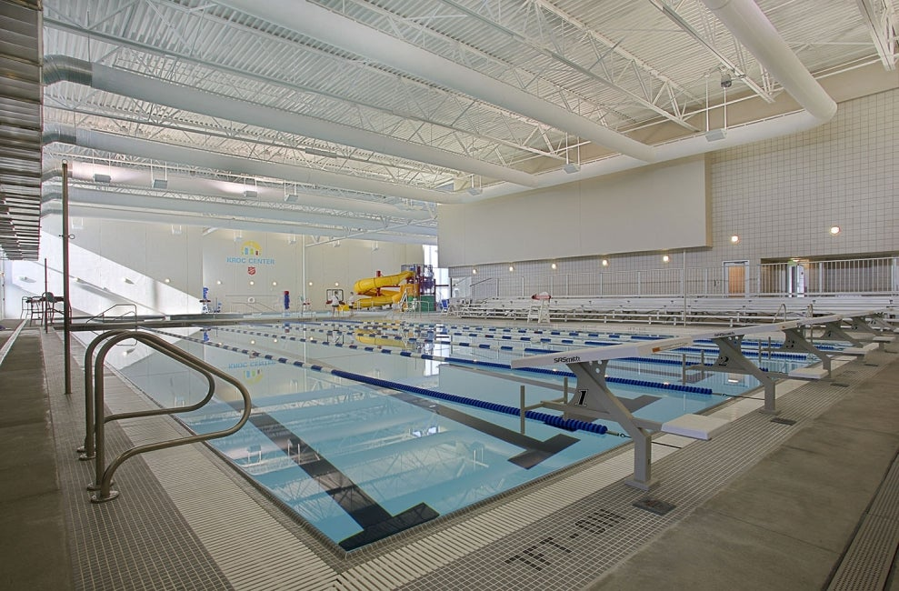 Ray and Joan Kroc Community Center interior swimming pool