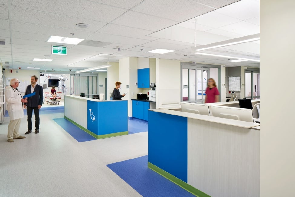 BC Children's Hospital Teck Acute Care Centre Emergency Department Trauma Room