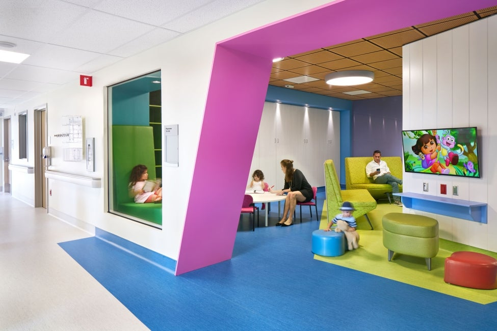 BC Children's Hospital Teck Acute Care Centre waiting room