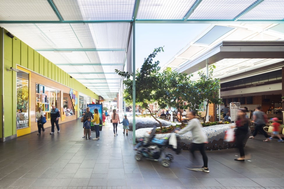 rouse hill town centre shopping retail hdr