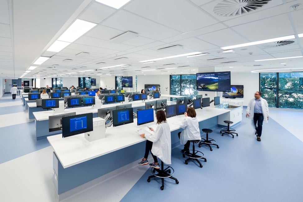 University of Sydney Life, Earth and Environmental Services LEES interior laboratory HDR