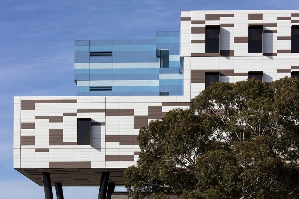 Werribee Mercy Hospital side elevation top